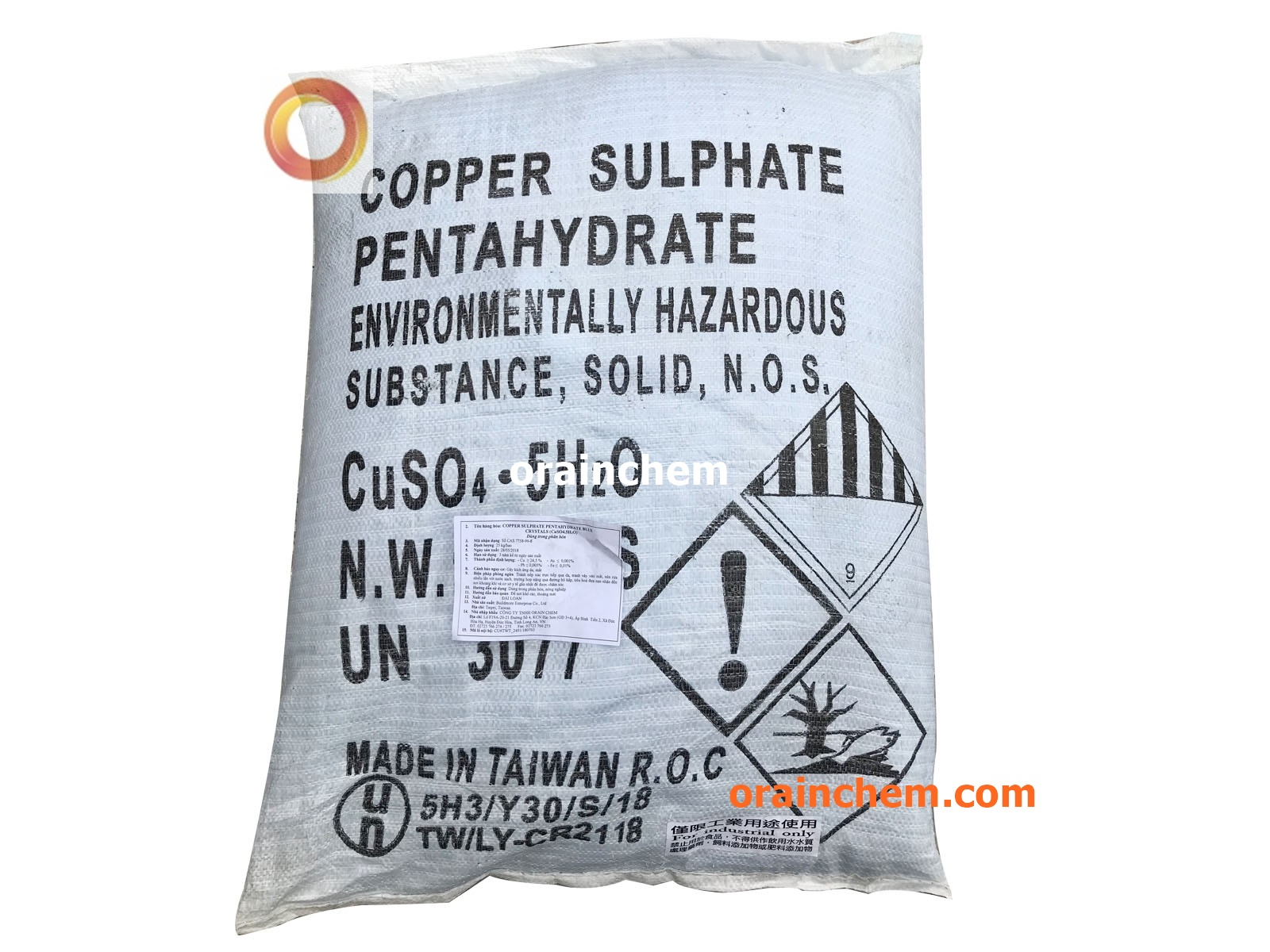 Đồng Sulphate CuSO4 - Copper Sulphate